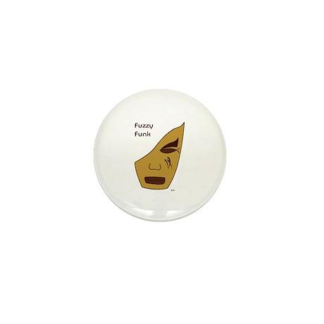 Fuzzy Funk Mask Mini Button (10 pack)