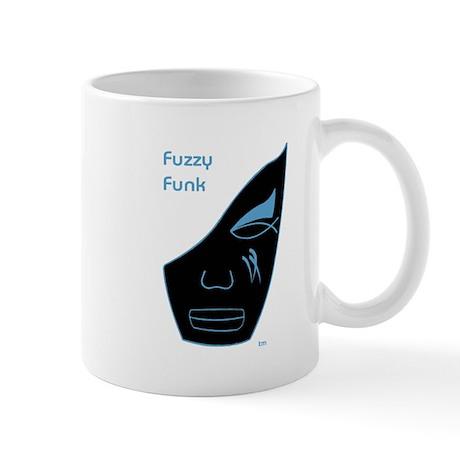Fuzzy Funk Mask Mug