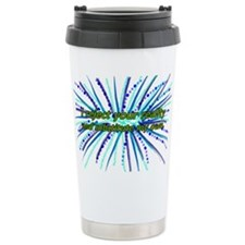 Cute Teal Travel Mug
