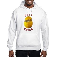 Golf Chick 2 Hoodie