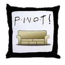Friends Ross Pivot! Throw Pillow
