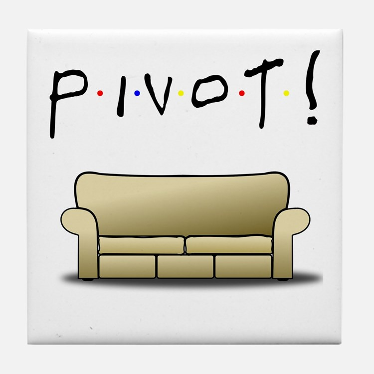 Friends Ross Pivot! Tile Coaster