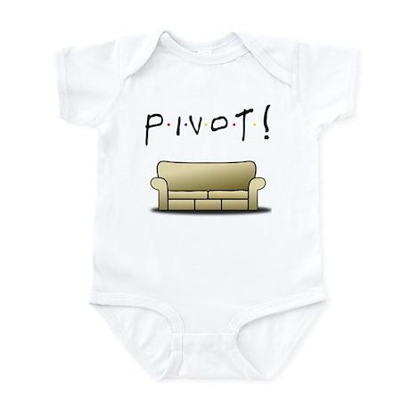 Friends Ross Pivot! Infant Bodysuit