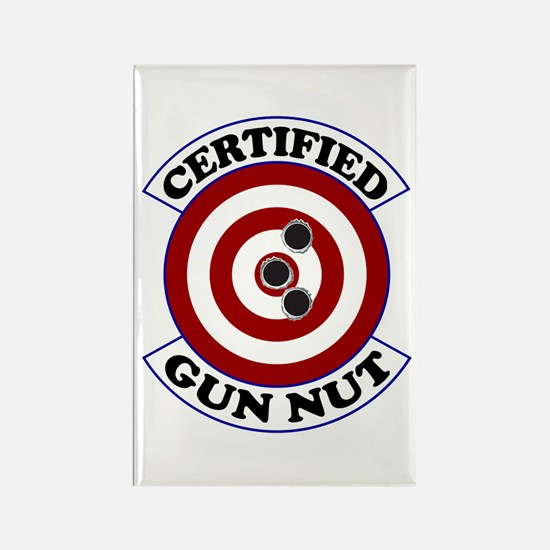Certified Gun Nut Rectangle Magnet