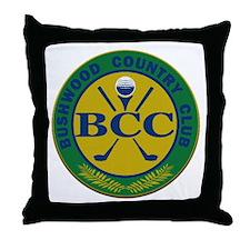 Bushwood Country Club Throw Pillow
