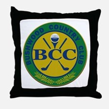 Bushwood Country Club Throw Pillow