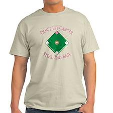 Cancer Steal 2nd Base T-Shirt