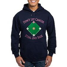 Cancer Steal 2nd Base Hoodie