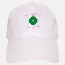Cancer Steal 2nd Base Baseball Baseball Cap