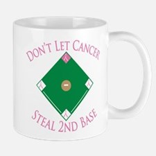Cancer Steal 2nd Base Mug