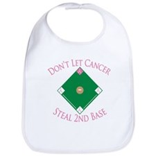 Cancer Steal 2nd Base Bib