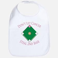 Cancer Steal 2nd Base Bib