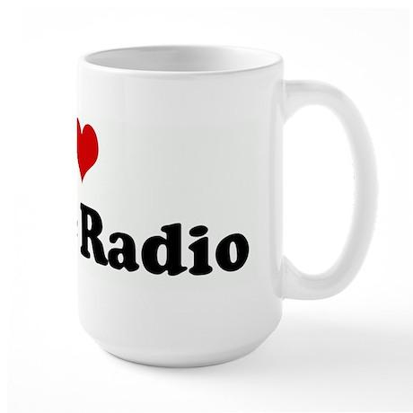 I Love Public Radio Large Mug