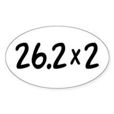 26.2 x 2 Oval Decal