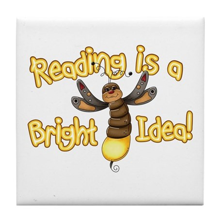 Reading Bright Idea Tile Coaster