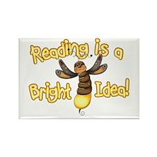 Reading Bright Idea Rectangle Magnet