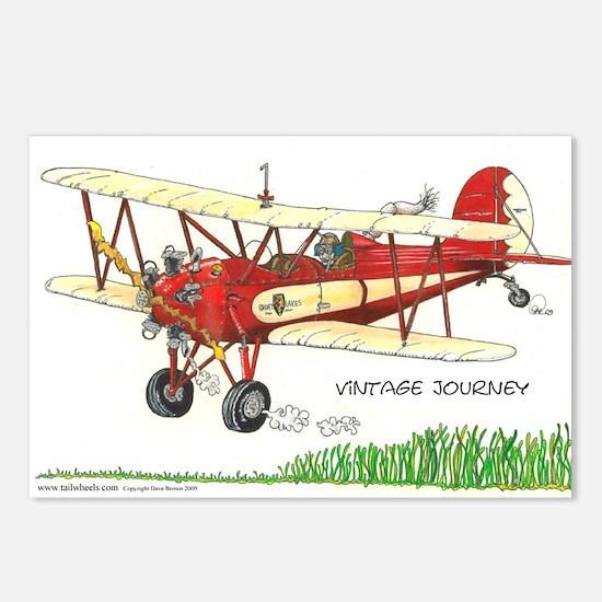 Vintage Journey Postcards (Package of 8)