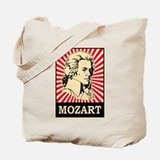 Pop Art Mozart Tote Bag