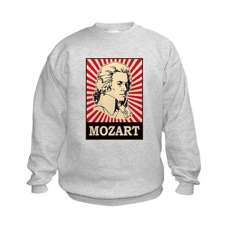Pop Art Mozart Kids Sweatshirt