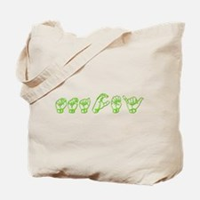 Stacy - ASL Tote Bag