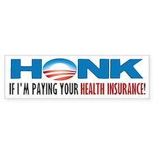 Honk! Bumper Bumper Sticker