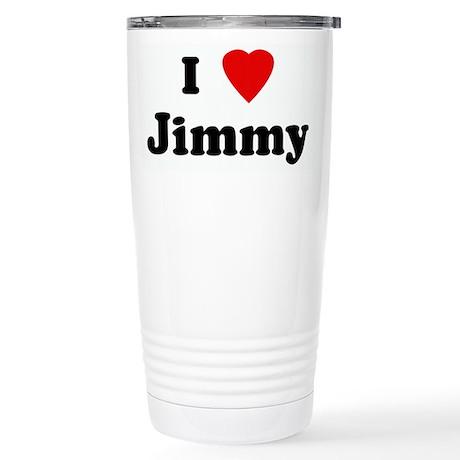 I Love Jimmy Stainless Steel Travel Mug
