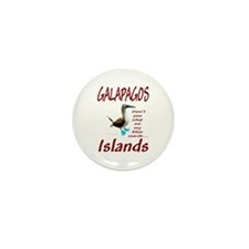 Galapagos Islands-Mini Button (10 pack)