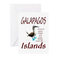 Galapagos Islands-Greeting Cards (Pk of 10)