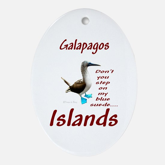 Galapagos Islands-Oval Ornament