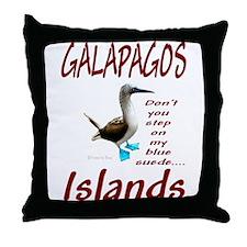 Galapagos Islands-Throw Pillow