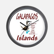 Galapagos Islands- Wall Clock