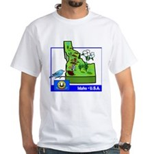 Idaho Map Shirt