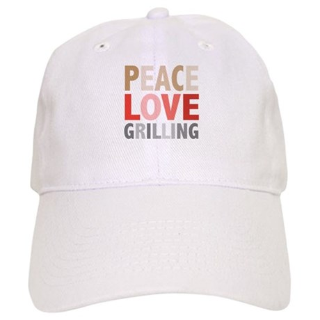 Peace Love Grilling Cap