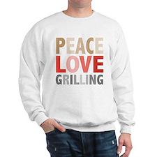 Peace Love Grilling Sweatshirt