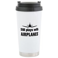 Still plays with Airplanes-Co Travel Mug