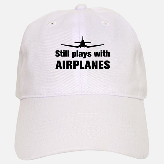 Still plays with Airplanes-Co Cap