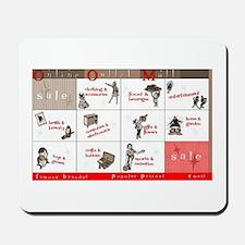 Online Shopping Mousepad