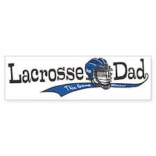 Lacrosse Dad Helmet Bumper Bumper Bumper Sticker