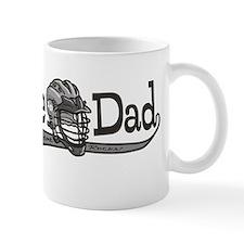 Lacrosse Dad Helmet Mug