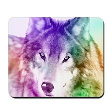 Wolf Gaze Art Mousepad