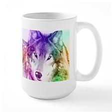 Wolf Gaze Art Mug
