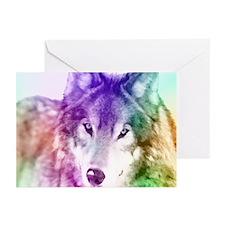 Wolf Gaze Art Greeting Cards (Pk of 20)