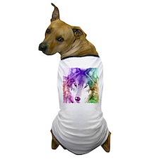 Wolf Gaze Art Dog T-Shirt