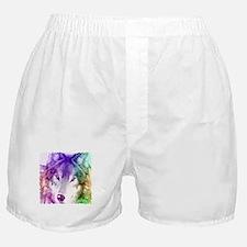 Wolf Gaze Art Boxer Shorts