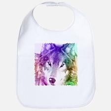 Wolf Gaze Art Bib