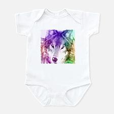 Wolf Gaze Art Infant Bodysuit