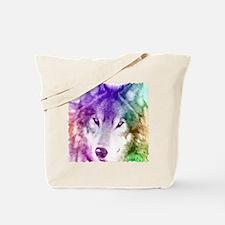 Wolf Gaze Art Tote Bag
