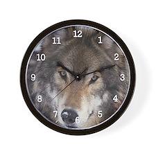 Wolf Gaze Wall Clock