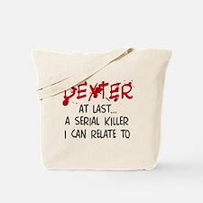 'Dexter Morgan' Tote Bag