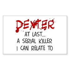 'Dexter Morgan' Rectangle Decal